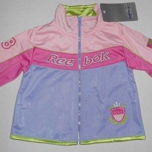 Vintage Reebok Classic Girls Toddler Jacket Top